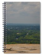 Atop Of Stone Mountain Spiral Notebook