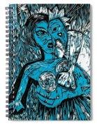 Attached Spiral Notebook