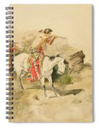 Attack On The Muleteers Spiral Notebook