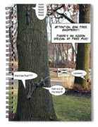 Attention Oak Tree Shoppers Spiral Notebook