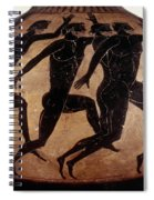 Attic Black-figured Vase Spiral Notebook