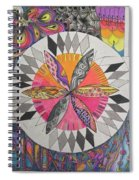 Attracted Spiral Notebook