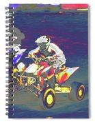 Atv Racing Spiral Notebook