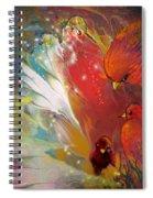 Au Pays Des Oiseaux Spiral Notebook