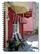 Au Petit Hotel Quebec City  6525 Spiral Notebook