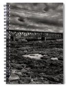 Auburn Lewiston Railway Bridge Spiral Notebook