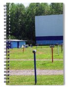 Auburn Ny - Drive-in Theater 3 Spiral Notebook