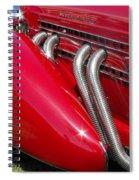 Auburn Speedster Spiral Notebook