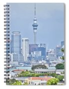 Auckland City C B D Spiral Notebook