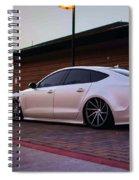 Audi A8 Spiral Notebook