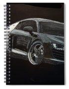 Audi Le Mans Spiral Notebook