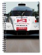 Audi R18 E-tron, Le Mans - 04 Spiral Notebook