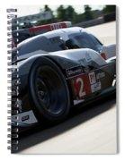Audi R18 E-tron, Le Mans - 09 Spiral Notebook