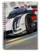 Audi R18 E-tron, Le Mans - 12 Spiral Notebook