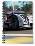 Audi R18 E-tron, Le Mans - 14 Spiral Notebook