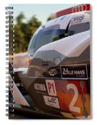 Audi R18 E-tron, Le Mans - 23 Spiral Notebook