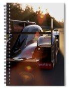Audi R18 E-tron, Le Mans - 28 Spiral Notebook