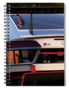 Audi R8 Lms - 06 Spiral Notebook