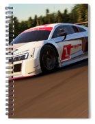 Audi R8 Lms - 09 Spiral Notebook
