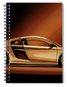 Audi R8 2007 Painting Spiral Notebook