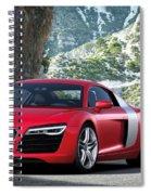 Audi R8 Spiral Notebook