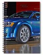 Audi Tt Spiral Notebook