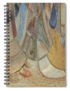 Audience For The Ceremonial Dancers Spiral Notebook