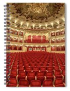 Auditorium Of The Great Theatre - Opera Spiral Notebook