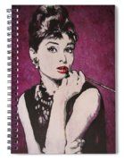 Audrey Hepburn - Breakfast Spiral Notebook
