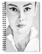 Audrey Hepburn In Her Own Words Spiral Notebook