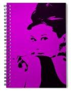Audrey Purple Spiral Notebook