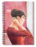 Audrey Tautou Spiral Notebook