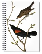 Audubon: Blackbird Spiral Notebook