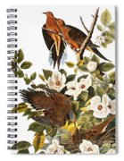 Audubon Dove Spiral Notebook