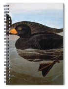 Audubon: Duck, 1827 Spiral Notebook