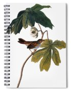 Audubon: Sparrow, 1827-38 Spiral Notebook