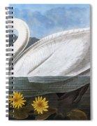 Audubon: Swan, 1827 Spiral Notebook