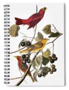 Audubon: Tanager Spiral Notebook