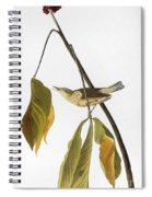 Audubon: Thrush, 1827 Spiral Notebook