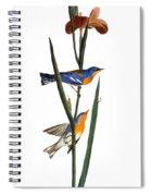 Audubon: Warbler, 1827 Spiral Notebook