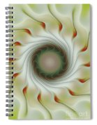 Auger Wheel Spin Spiral Notebook