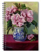 August Blossoms Spiral Notebook