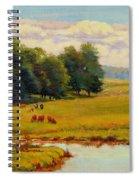 August Pastoral Spiral Notebook
