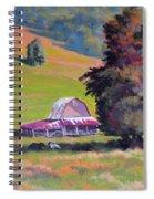 August Pastures Spiral Notebook