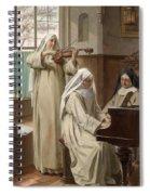 August Wilhelm Roesler Spiral Notebook