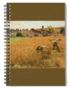 Augustin Lhermitte Spiral Notebook