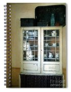 Aunt Mae's China Closet Spiral Notebook