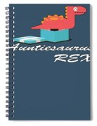 Auntisaurus Rex Spiral Notebook