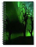 Aurora Borealis Lights - Painting Spiral Notebook