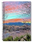 Aurora En El Prado  Spiral Notebook